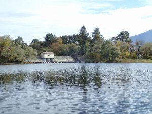 小野川湖の水門