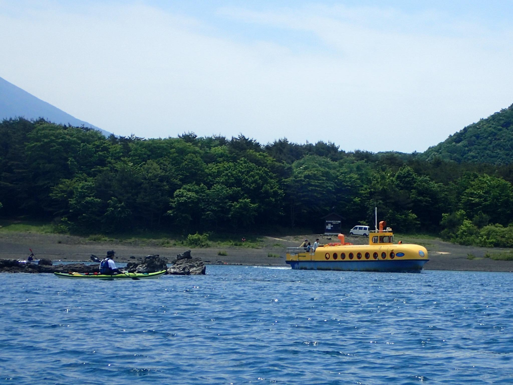 栖湖 カヌー 本