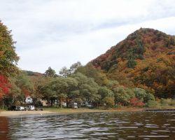 小野川湖畔の家キャンプ場全景