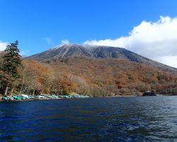 中禅寺湖 湖上から男体山