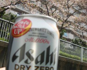 大横川の水上からの桜3