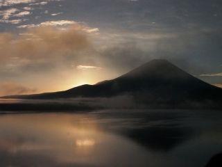 富士朝焼け2