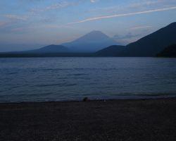 本栖湖夕景