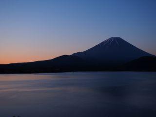 富士の朝焼け1