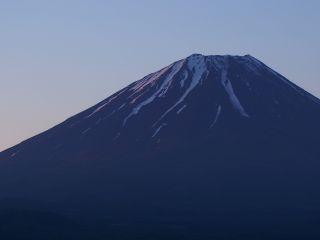 富士の朝焼け2