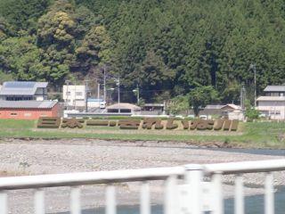 日本一きれいな川の生垣